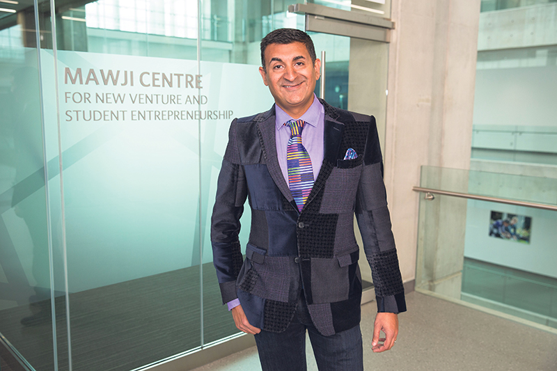 The $1-million donation from Ashif Mawji is the largest gift ever made by a NAIT alumnus. supplied
