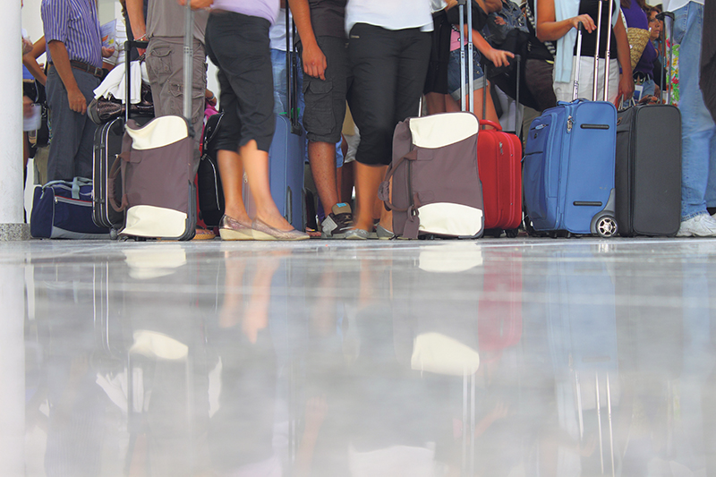 A majority of air travellers believe the wait time at Canadian airport security checkpoints has become worse over the past five years. istock.com