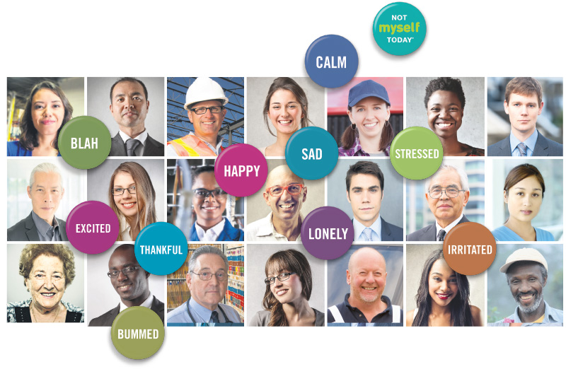 Not Myself Today, a national workplace mental health initiative by CMHA, draws attention to the fact that we all have days when we don't feel like ourselves. Acknowledging how we and others are feeling can allow us to better care for ourselves and each other. istock.com