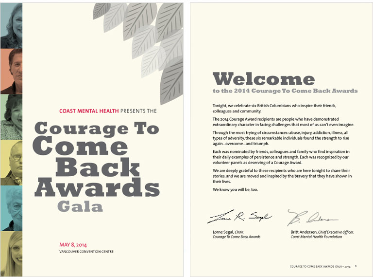 Courage to Come Back Awards