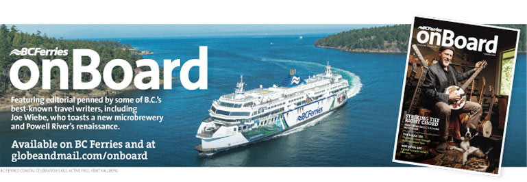 BC Ferries onBoard magazine