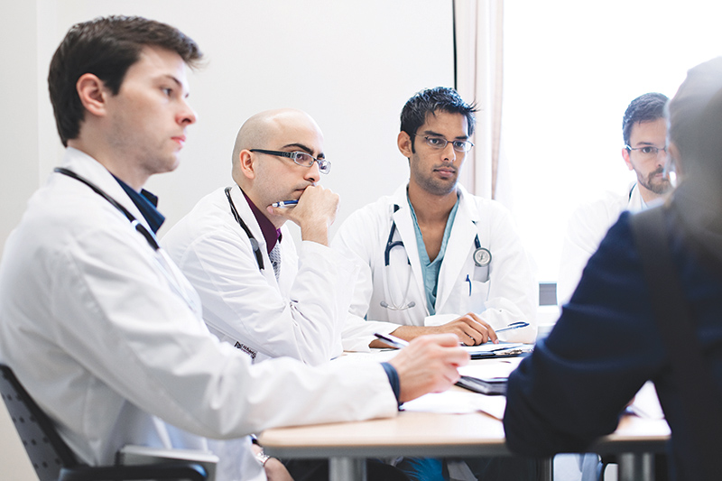 Medical students at McMaster University benefit from the institution's world-leading teaching methodology and research excellence. supplied