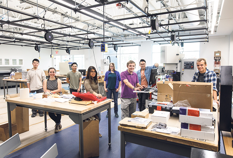 The Elko Engineering Garage is a new makerspace that enables the next generation of engineers to gain valuable hands-on experiential learning. supplied