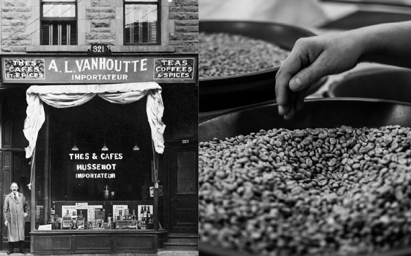 Albert-Louis Van Houtte opened his first store in Montreal in 1919 and bought a roaster to start roasting his own coffee – it marked the beginning of the legendary brand.  KEURIG CANADA INC.