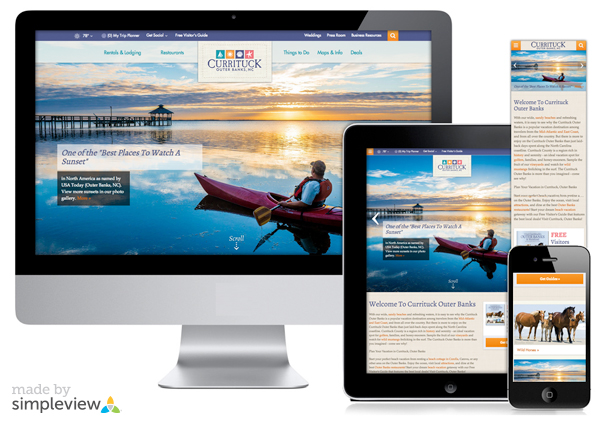 Responsive Website Design – Creative Director, Lisa Love. Senior Interactive Designer, John Duncan.