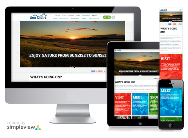 Responsive Website Design – Creative Director, Lisa Love. Interactive Designer, Eva Orduno.