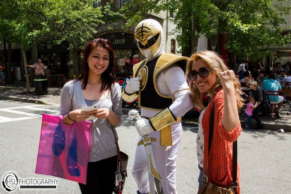 Power Ranger and the ladies.jpg