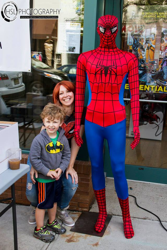 Spidey and fans.jpg