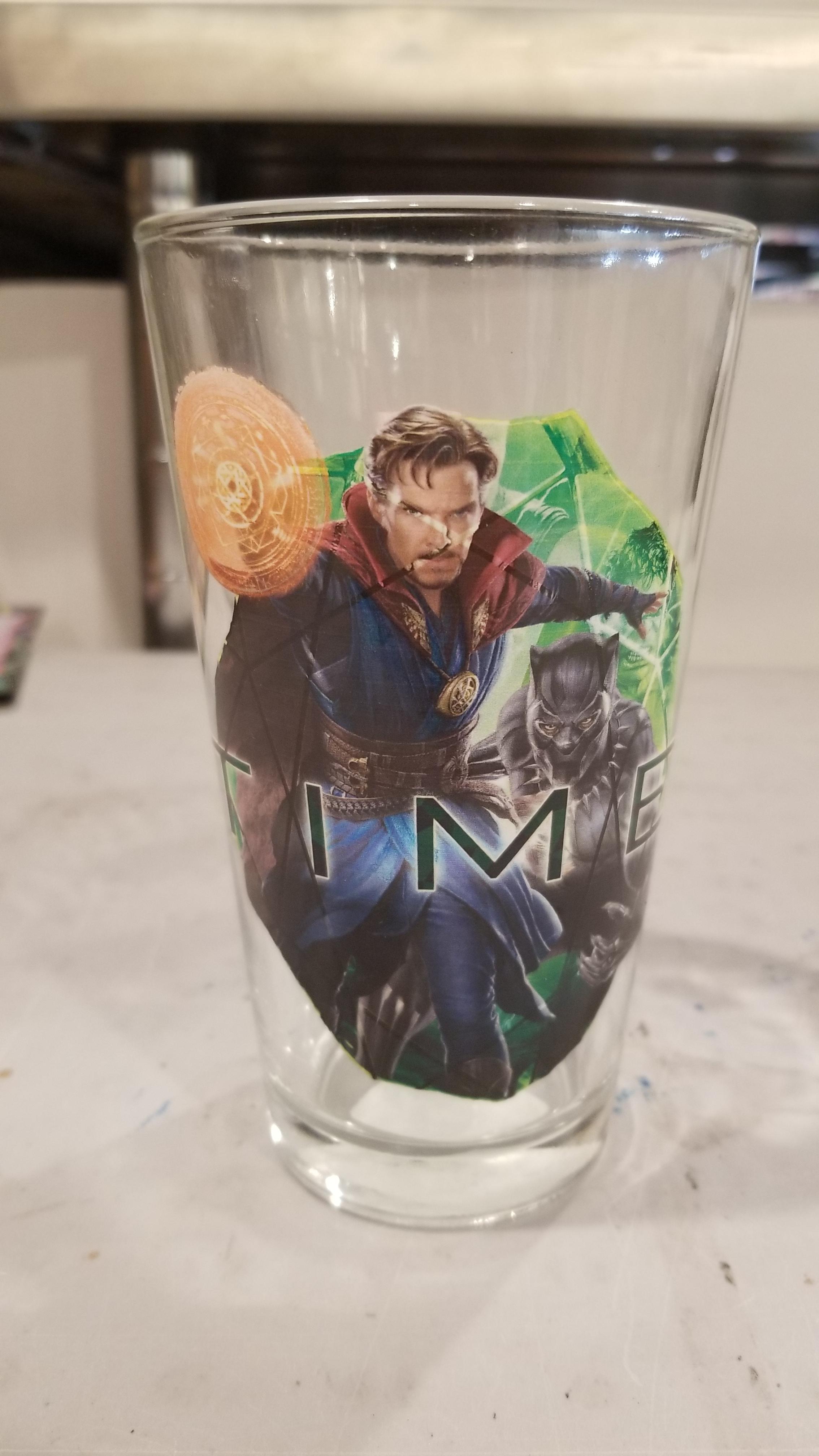Infinity War Pint Glass