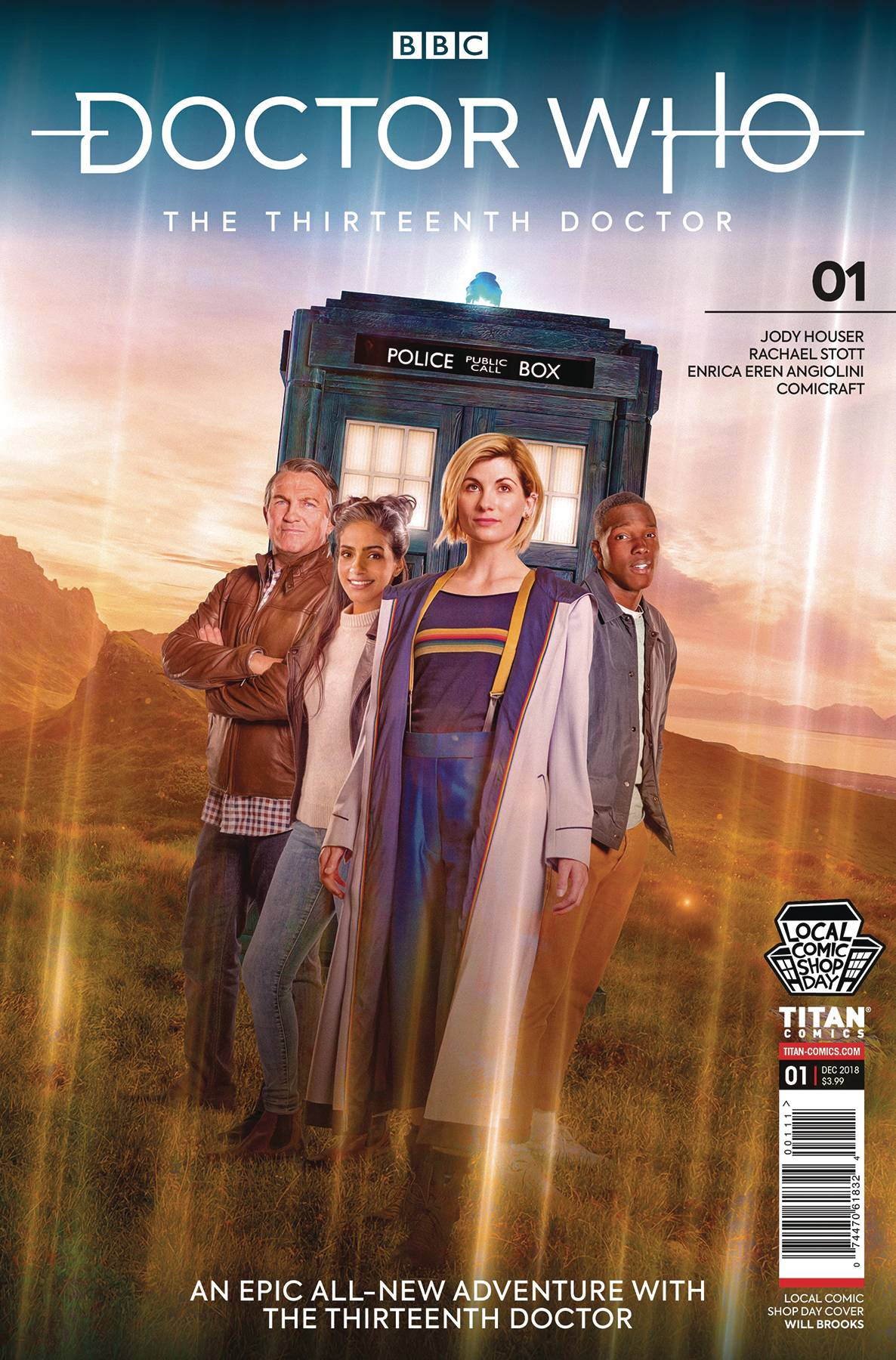 Doctor Who 13th Doctor Cover Set
