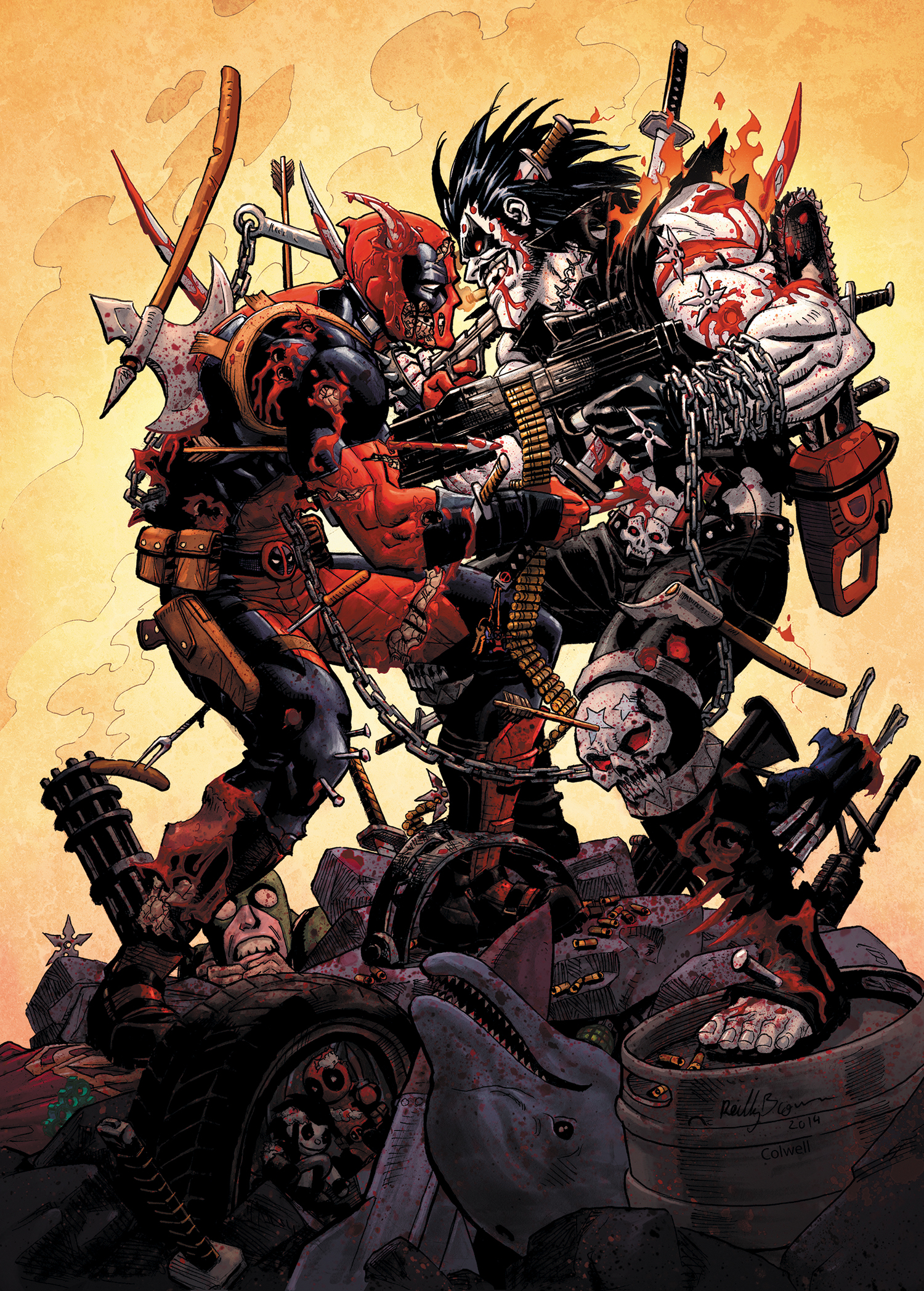 Reilly Deadpool vs Lobo