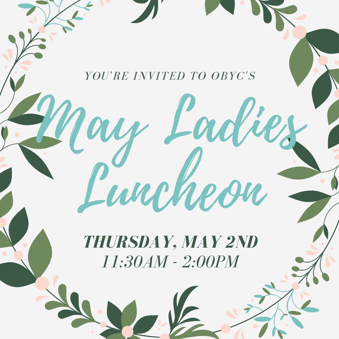 May Ladies Luncheon