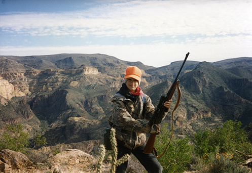 Hunting in the Superstition Mountains