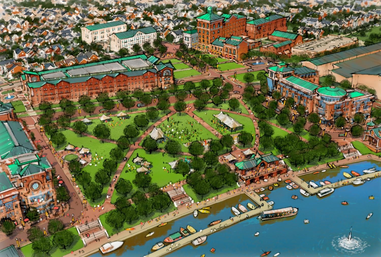 Lehigh Riverfront Master Plan