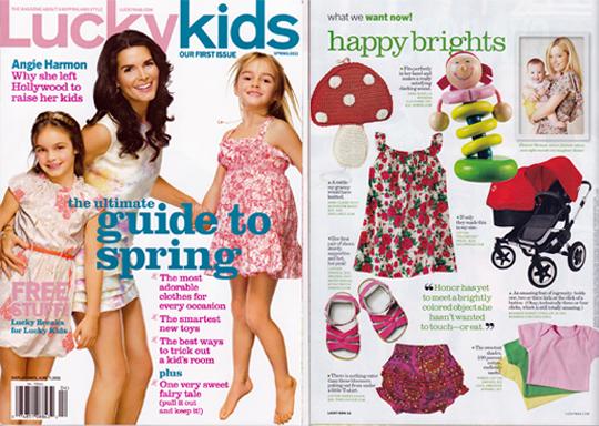 Sailorrose in Lucky Magazine