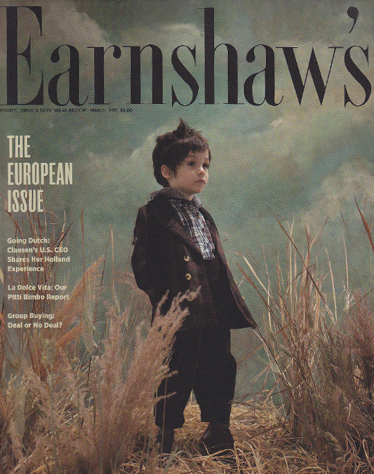 Sailor Rose in Earnshaws Magazine