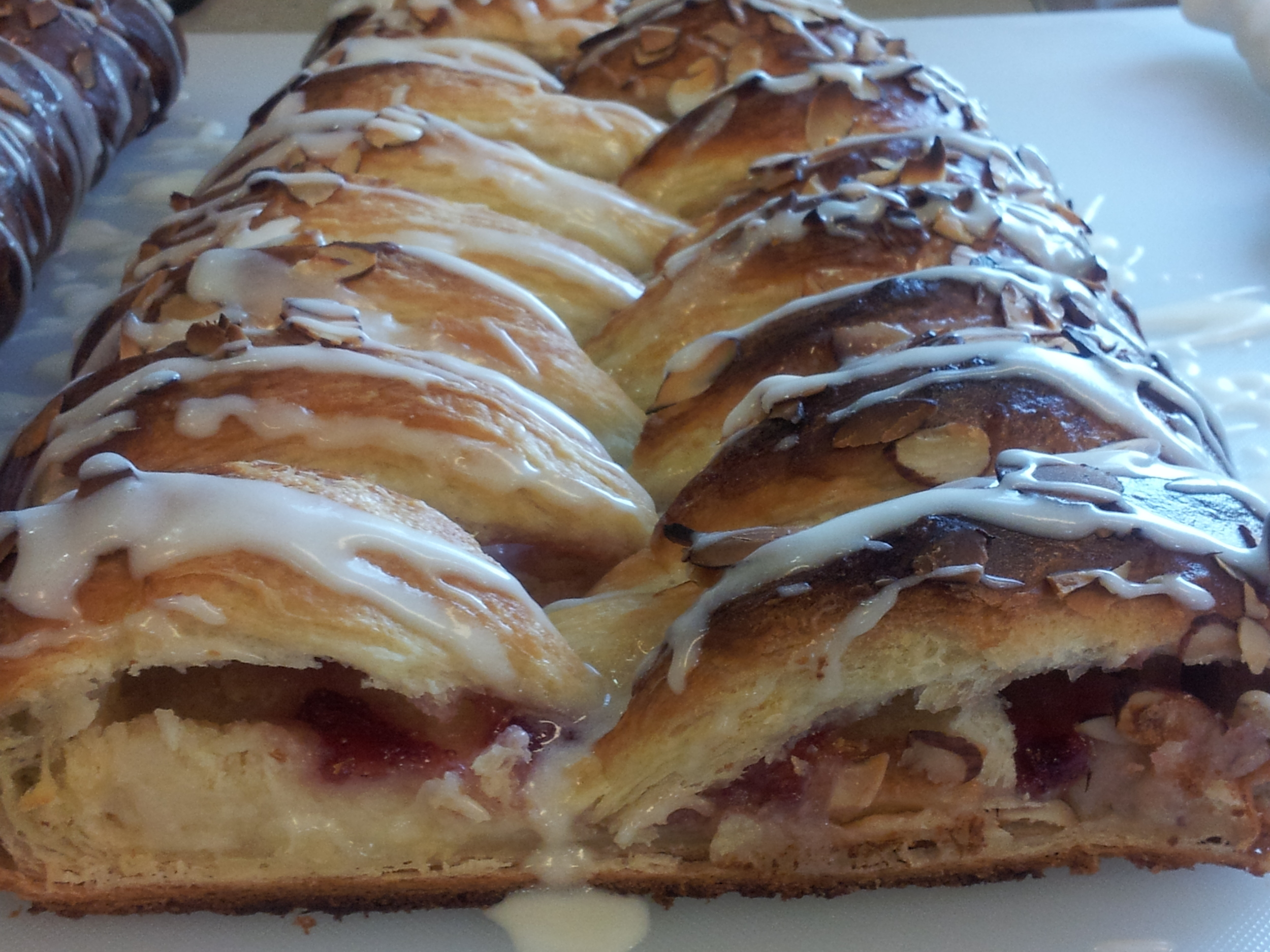 Strawberry Cream Cheese Braid. Photo by A. Doughty