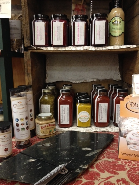 We Have Many Gifts For The Foodie On Your List! Food-slabs, Gourmet Sauces, Salts, Candies, Preserves & More!