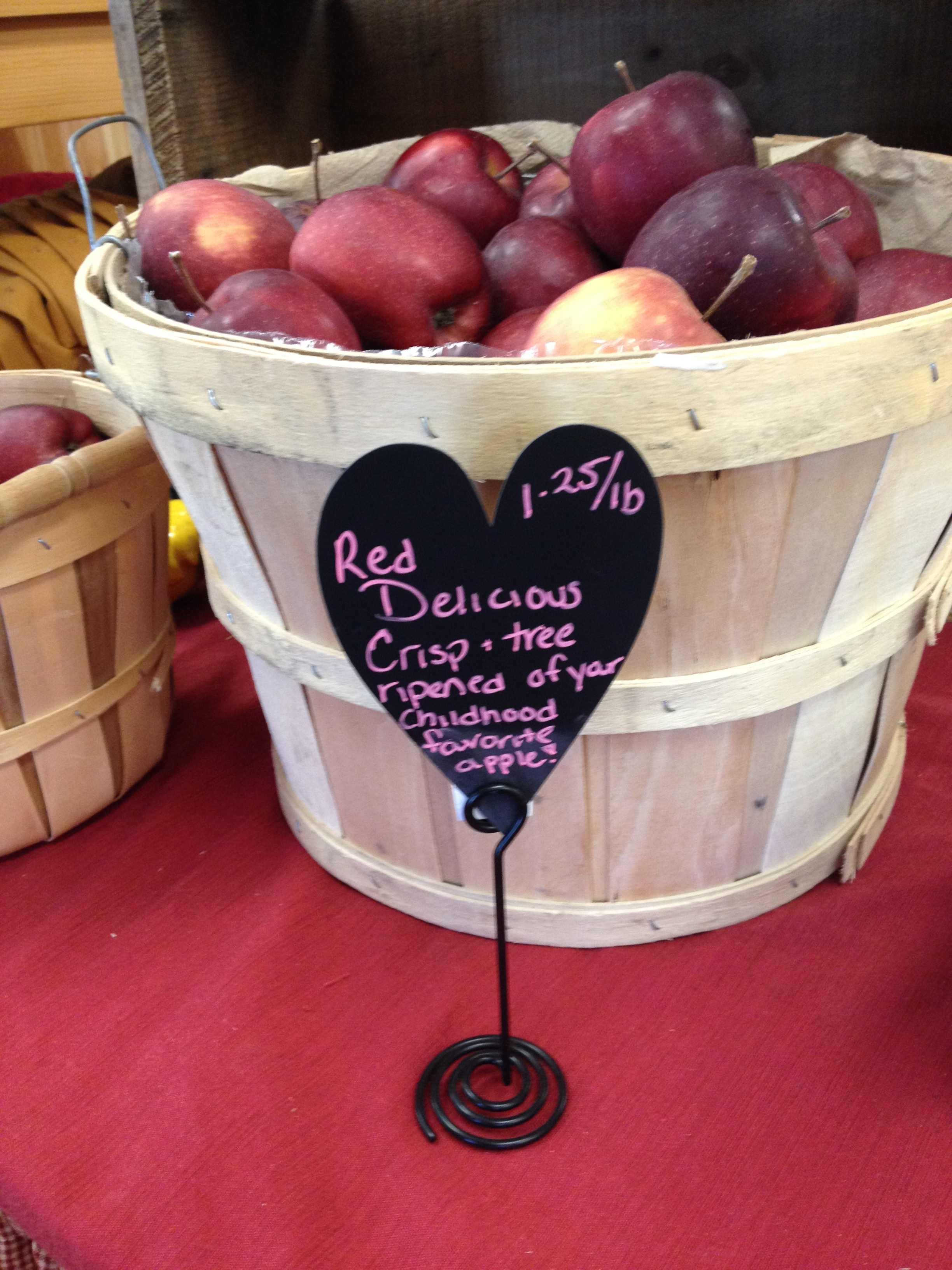 Apples Still Available In The Farmstand! Red Delicious Here!