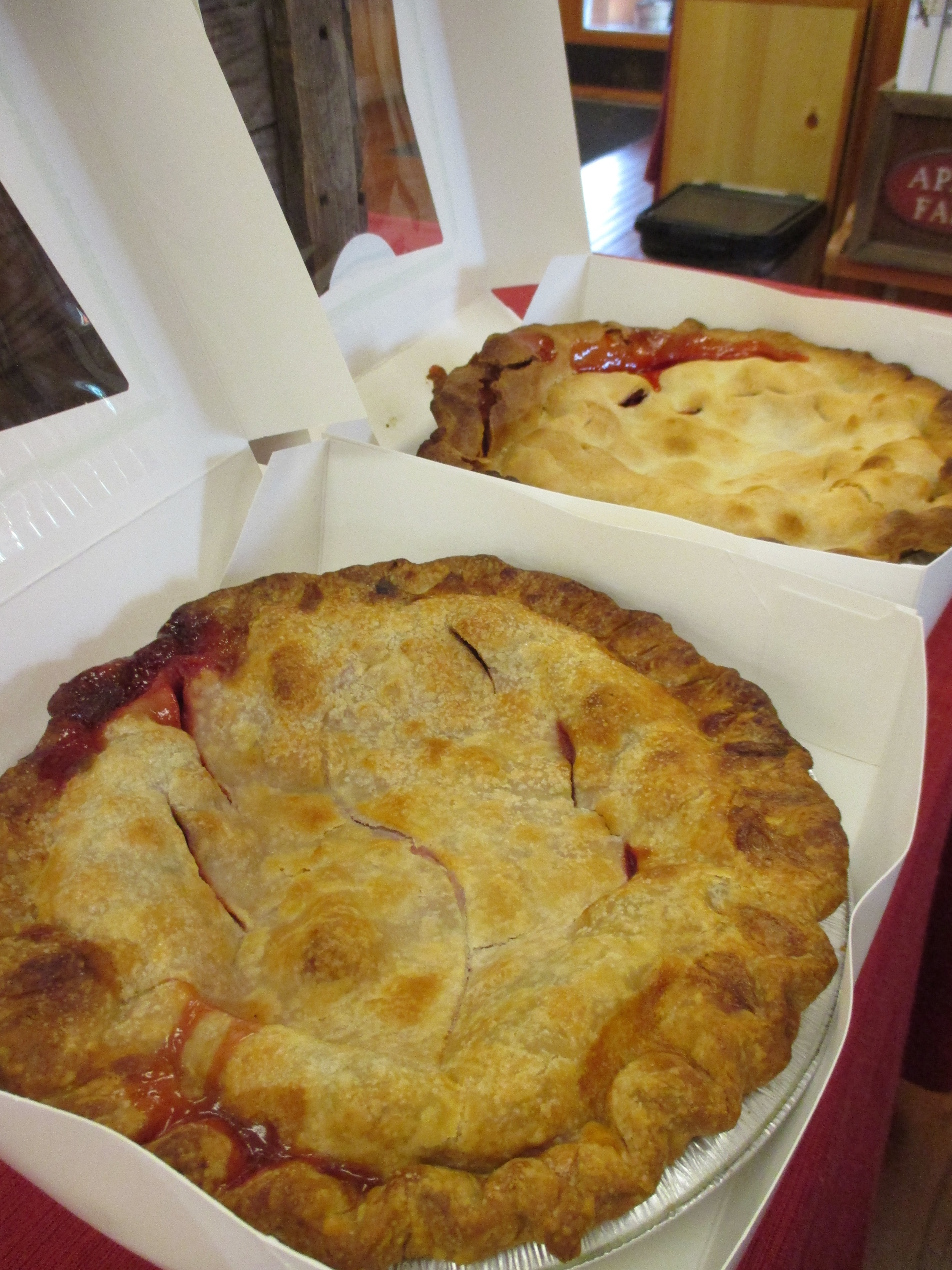 Fresh Pies at the Farmstand