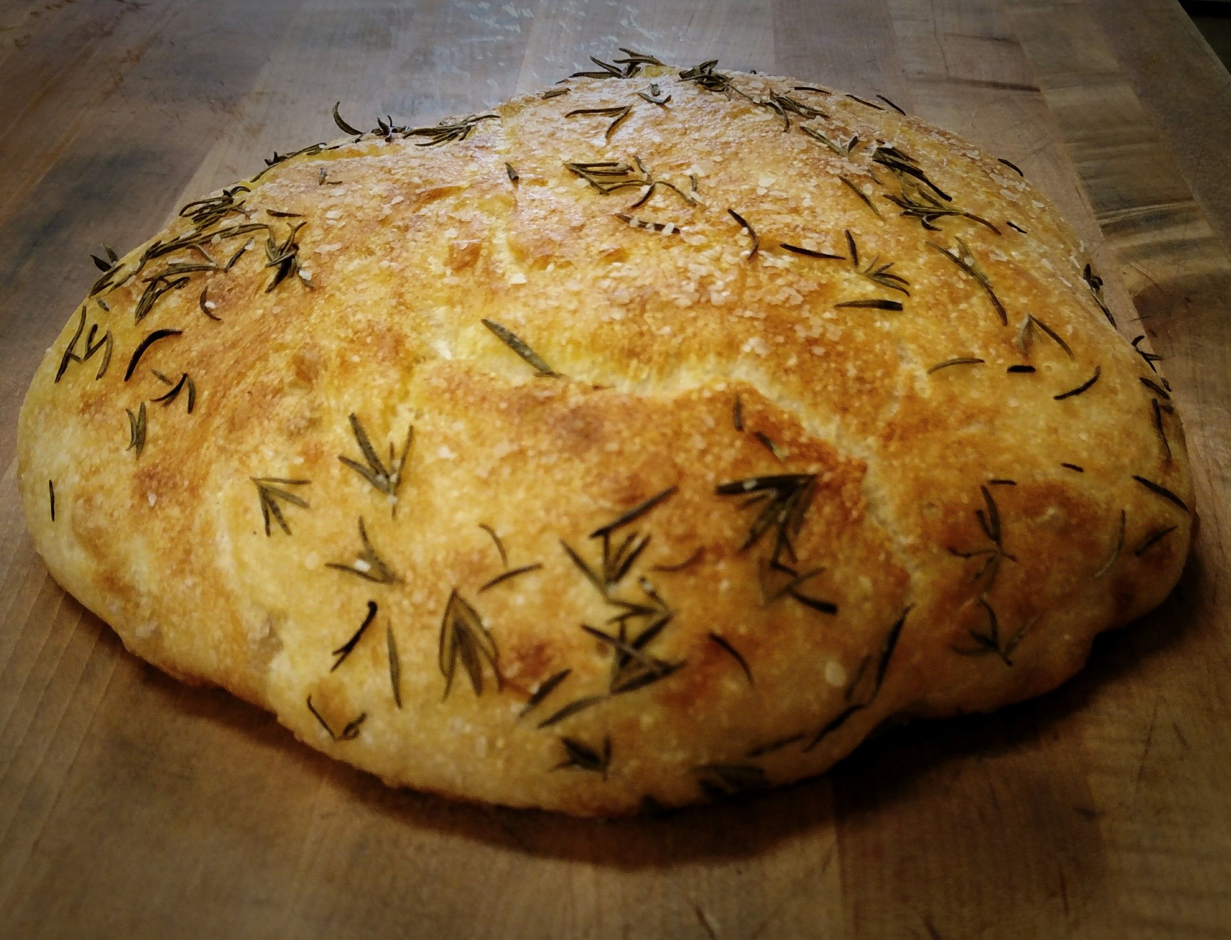 Rosemary Focaccia Fresh From The Brick Oven