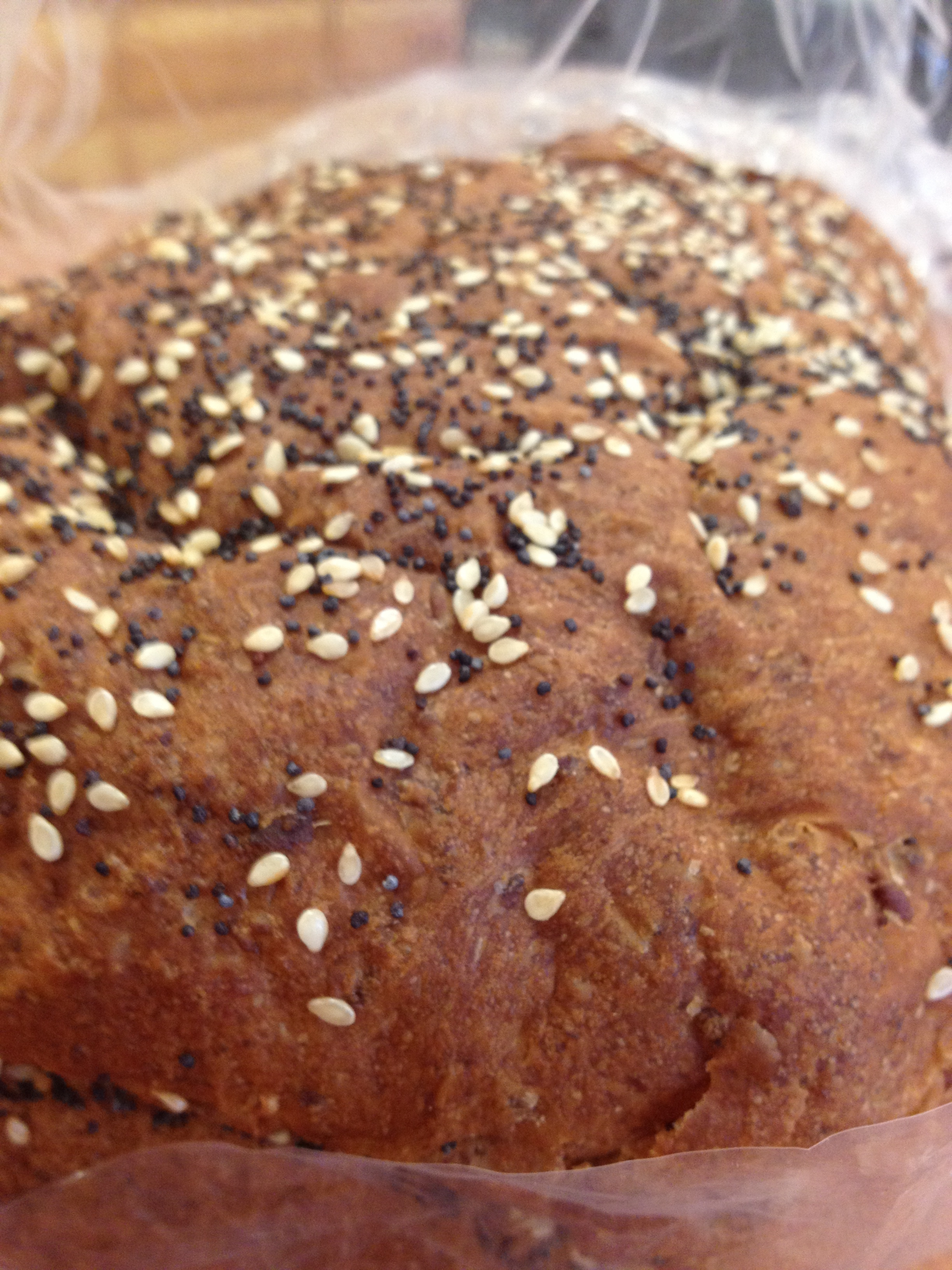 Seven-Grain Bread Is A Hearty, Nutty Loaf.