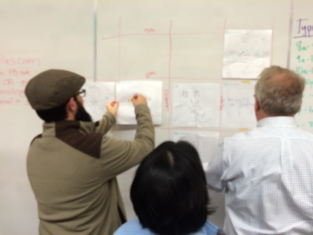 Hand Drawn Map Meetup with Maptime ATX