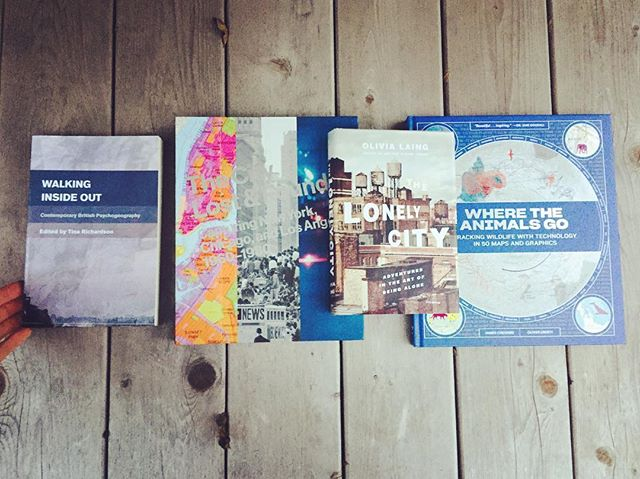 All the latest additions to the cartography/urbanism library. Come peruse these titles, along with the rest of the archive at this year's East Austin Studio Tour. Stop #483 at 5th & Springdale. #austinsatlaslibrary #cartography #austinsatlas #maps #urbanism #handrawnmaps #eastaustinstudiotour2017 #eastaustinstudiotour
