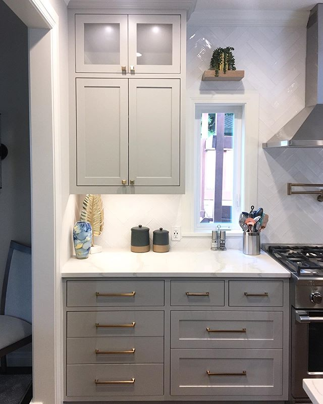 Another look at the kitchen we wrapped up.