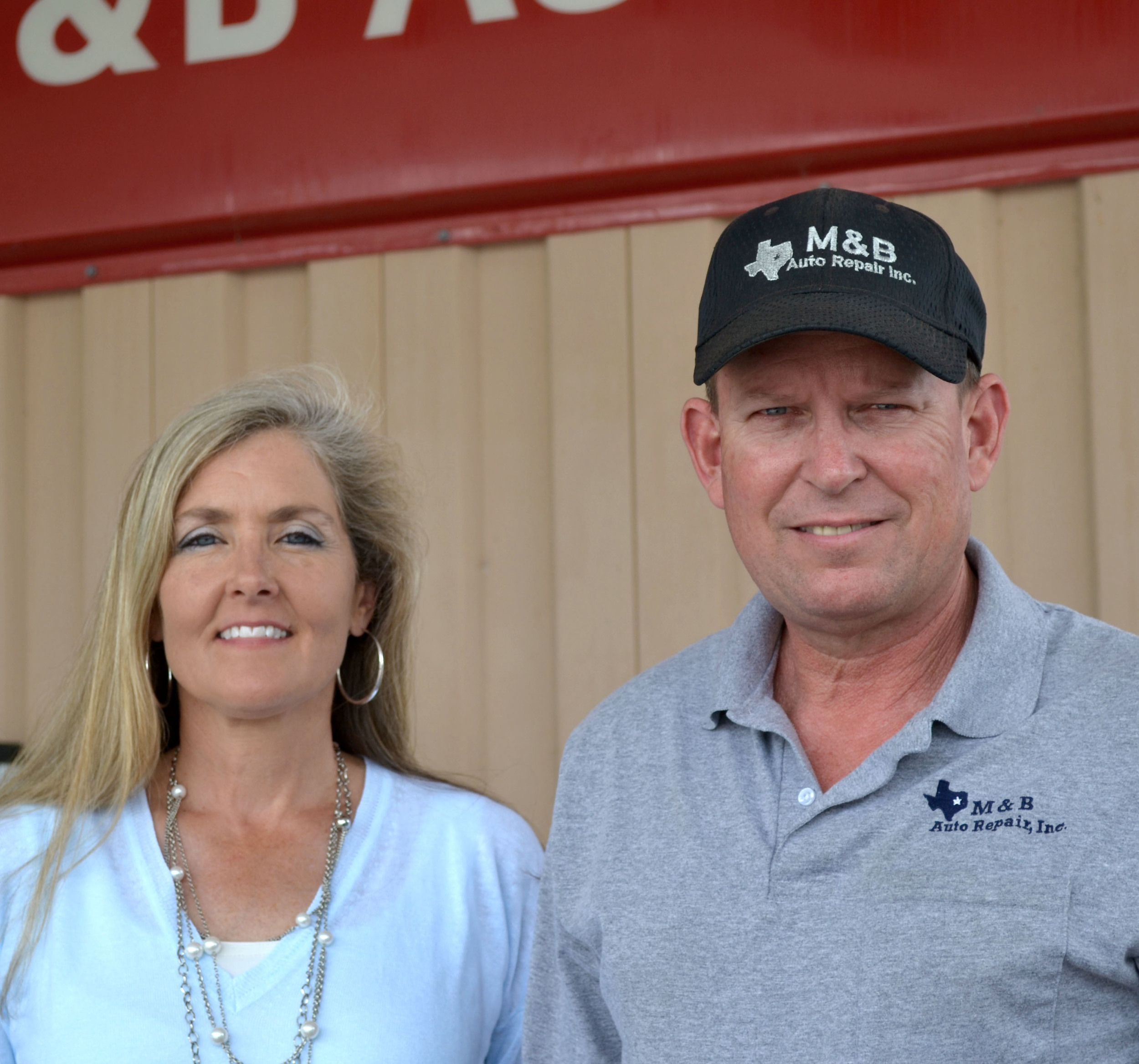 Rick & Karen Miller  Owners of M&B Auto Repair
