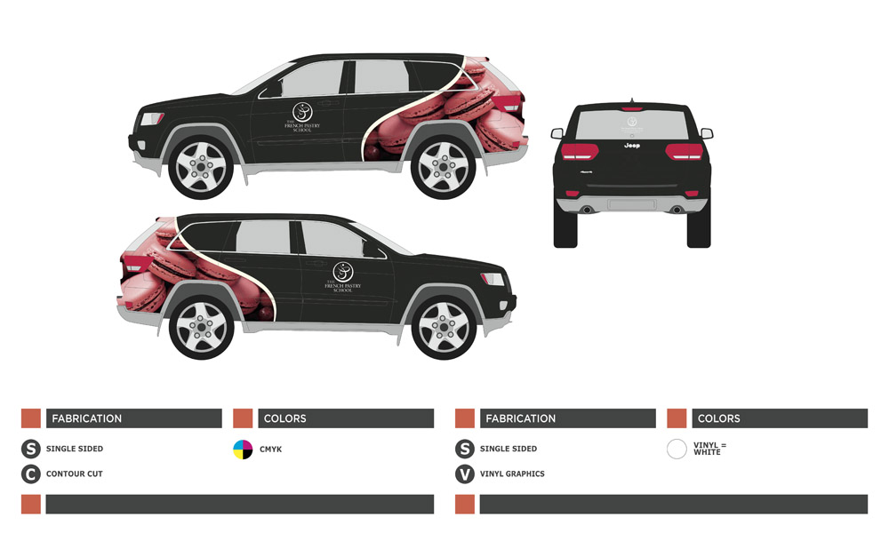 Car Design Mock-up : Illustrator
