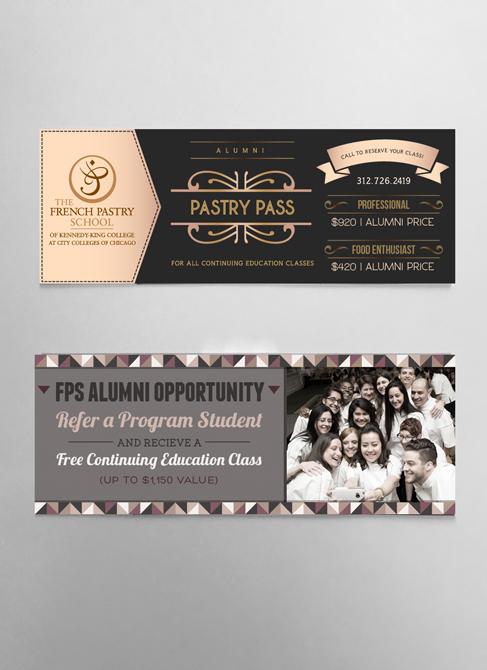 """Alumni """"Pastry Passes"""""""