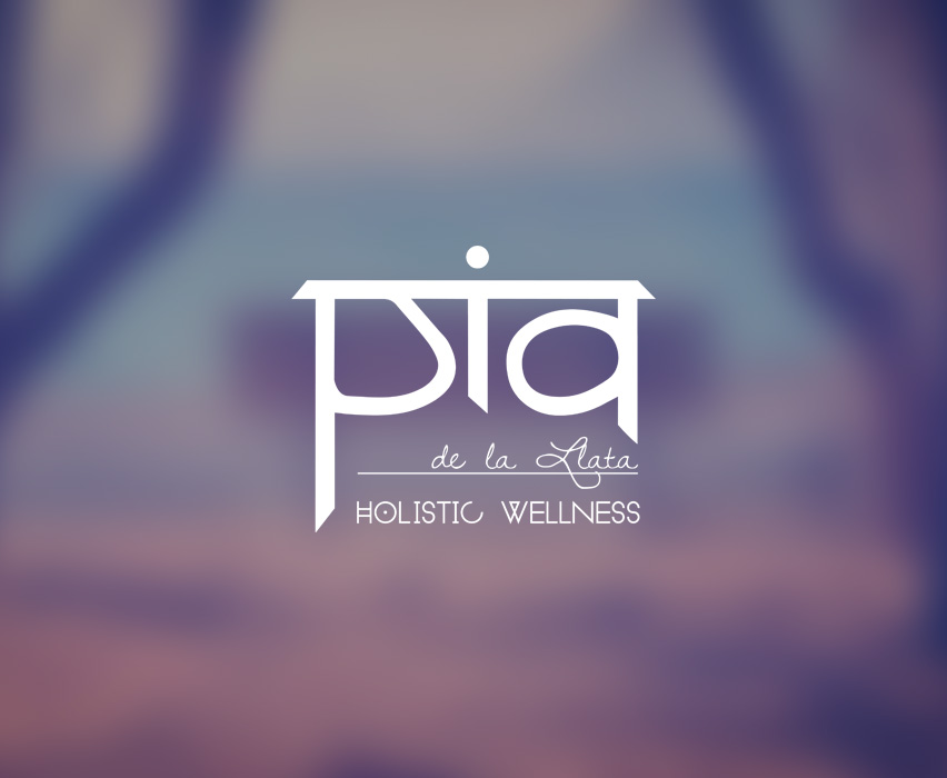 Pia de la Llata Holistic Wellness   Experienced nutritionist and health coach, Pia de la Llata specializes in chronic disease prevention. She is an avid yogi and Buddhist. My inspiration for this logo came from the Sanskrit alphabet. It also represents a person with balance and open arms. She works out of Venice Beach, California. See her website    here   .