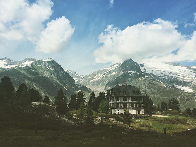Throwback. It was summer. We went for a stroll around Villa Cassel. . . . . . #tbt #valais #swissmountains #visitswitzerland #swissalps🇨🇭