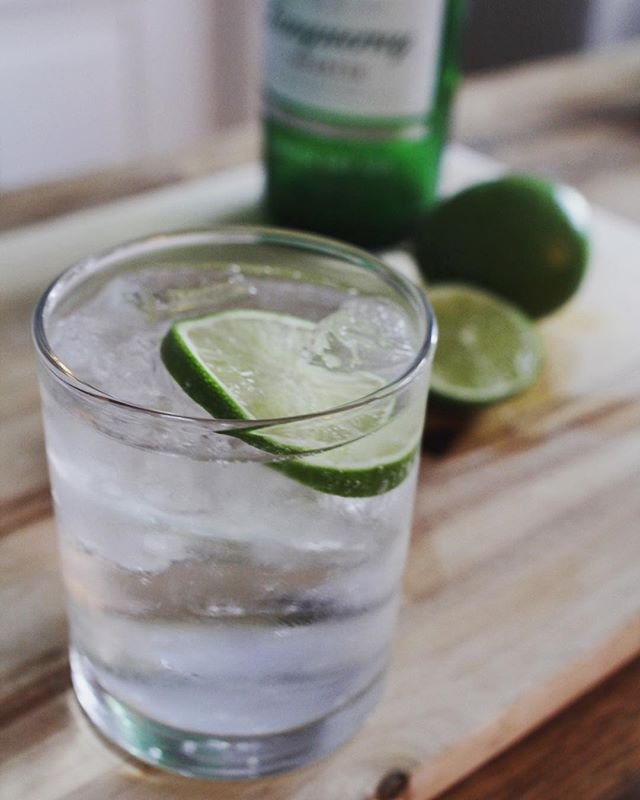 Candle Tip 3:  After only 1/2 inch of wax remains, it's time to say goodbye to your candle due to possible heat damage to the glass. Cheer up though, it's the perfect opportunity to recycle it into a vessel for your favorite drink. #recycle #ginandtonic #bringinglovetolight