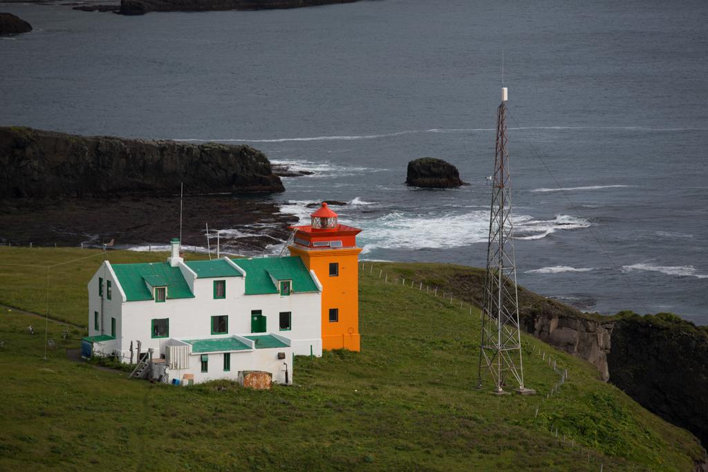 Lighthouse in Hornvik