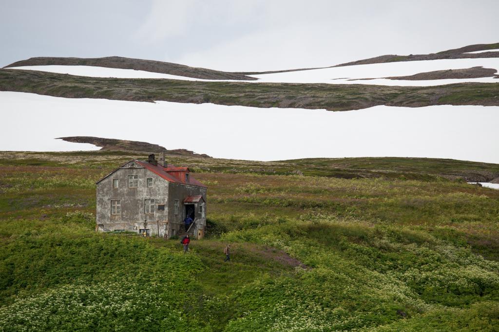 Deserted house on Hornstrandir