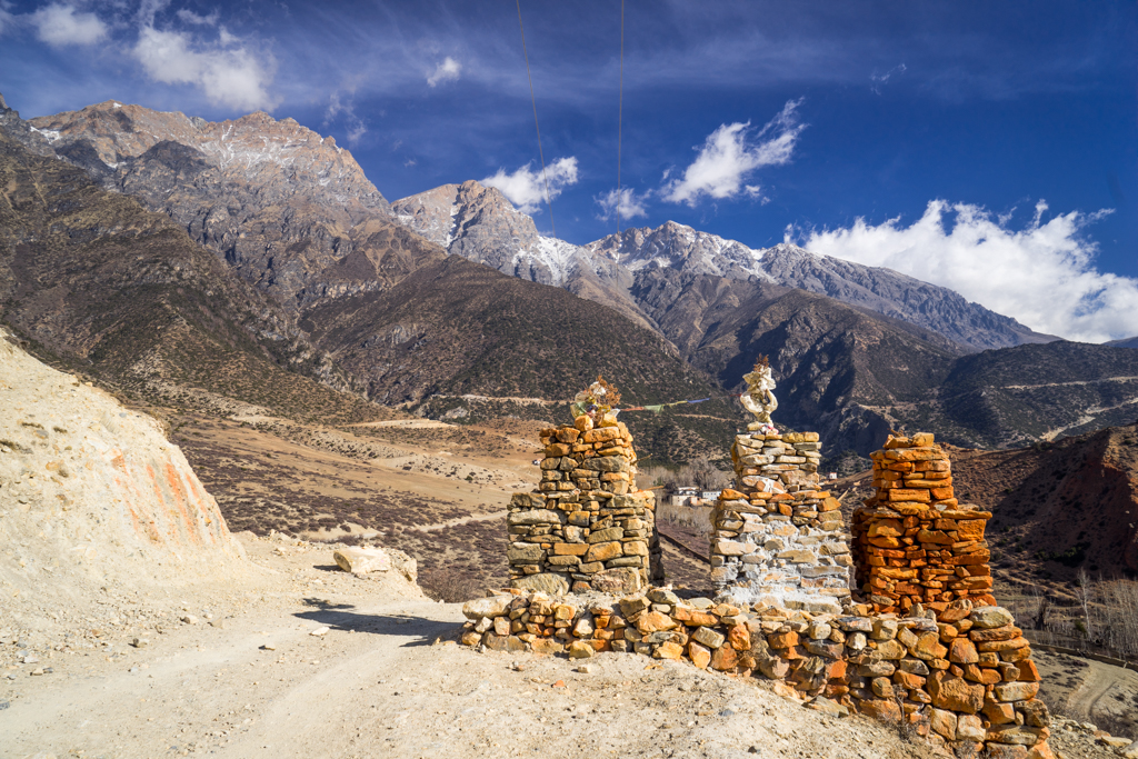 Chorten and very sunny, dry weather
