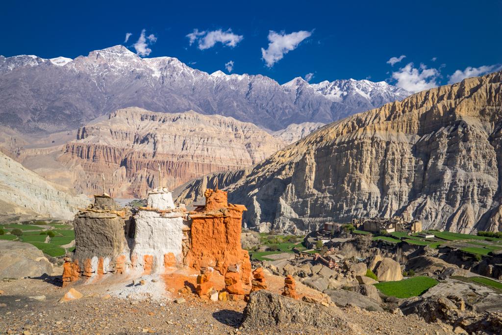 View to beautiful Tetang