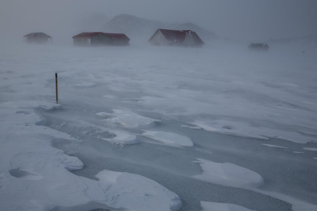 Storm at Alftavatn
