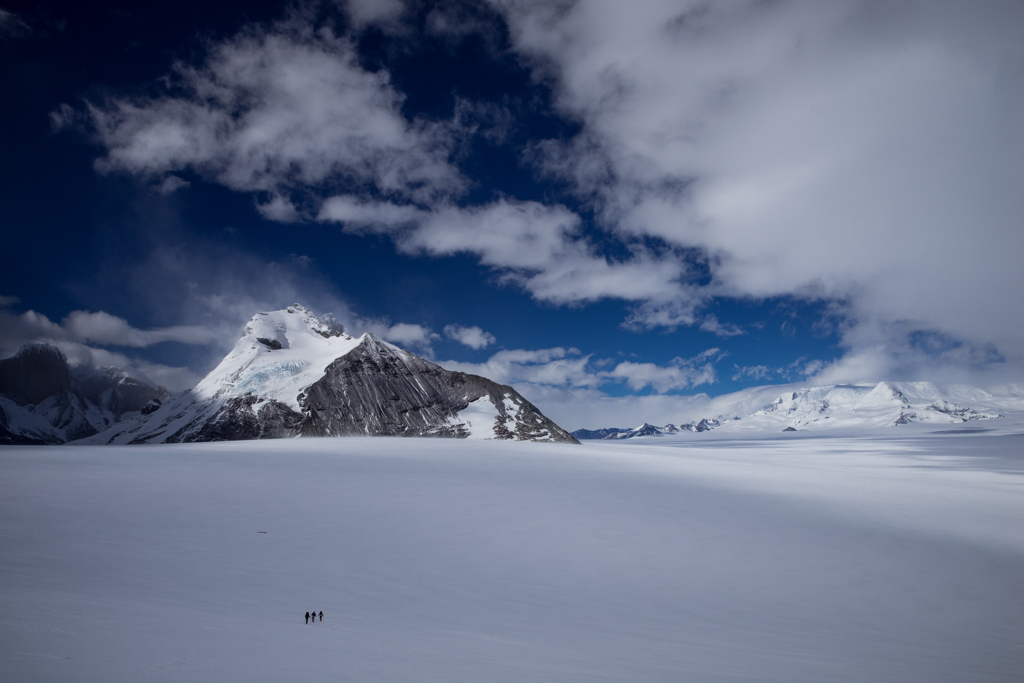 Italians disappearing on Icefield
