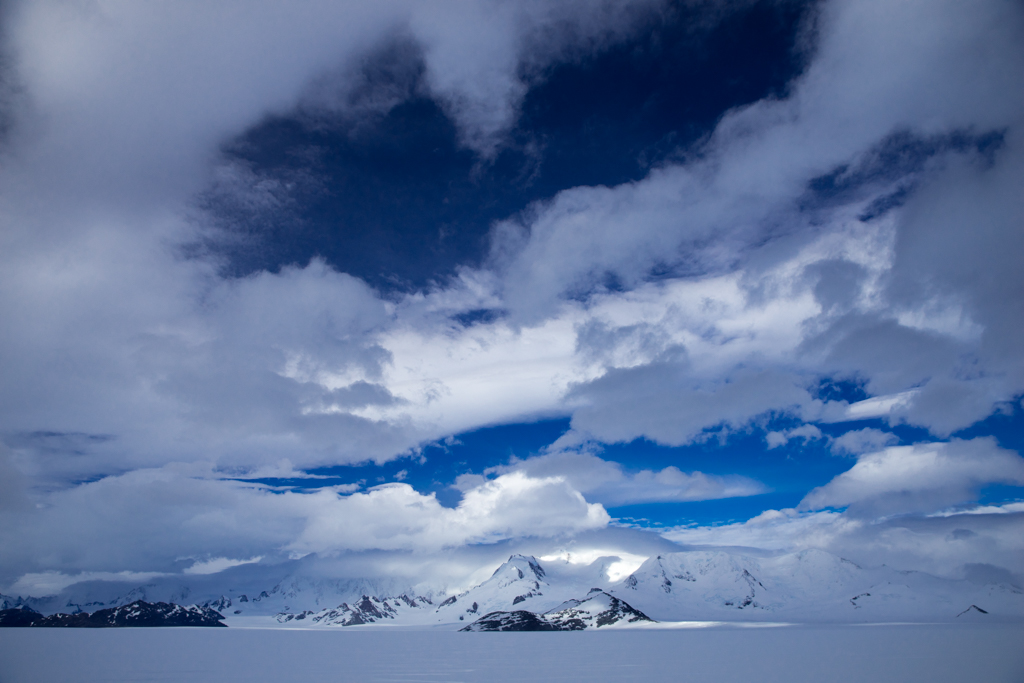 Beautiful clouds on the Patagonian Icefield