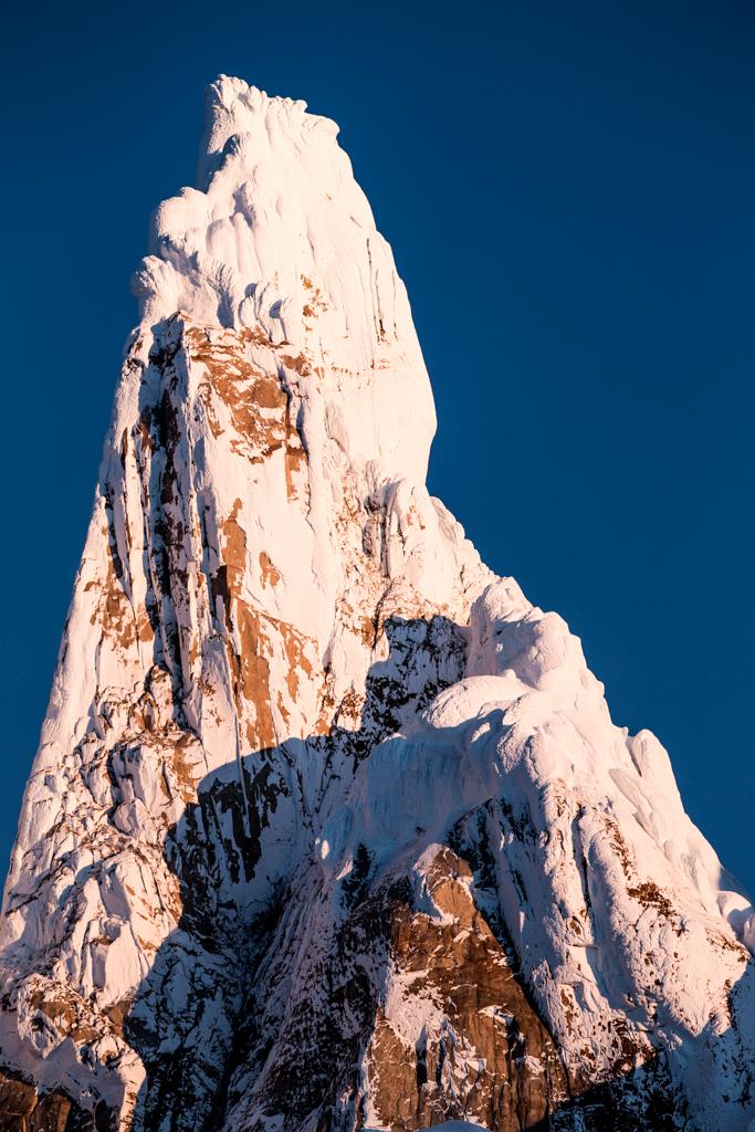 Summit of Cerro Torre (3102m)