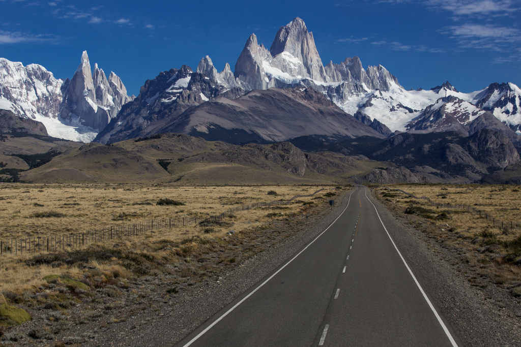 On the road to El Chalten