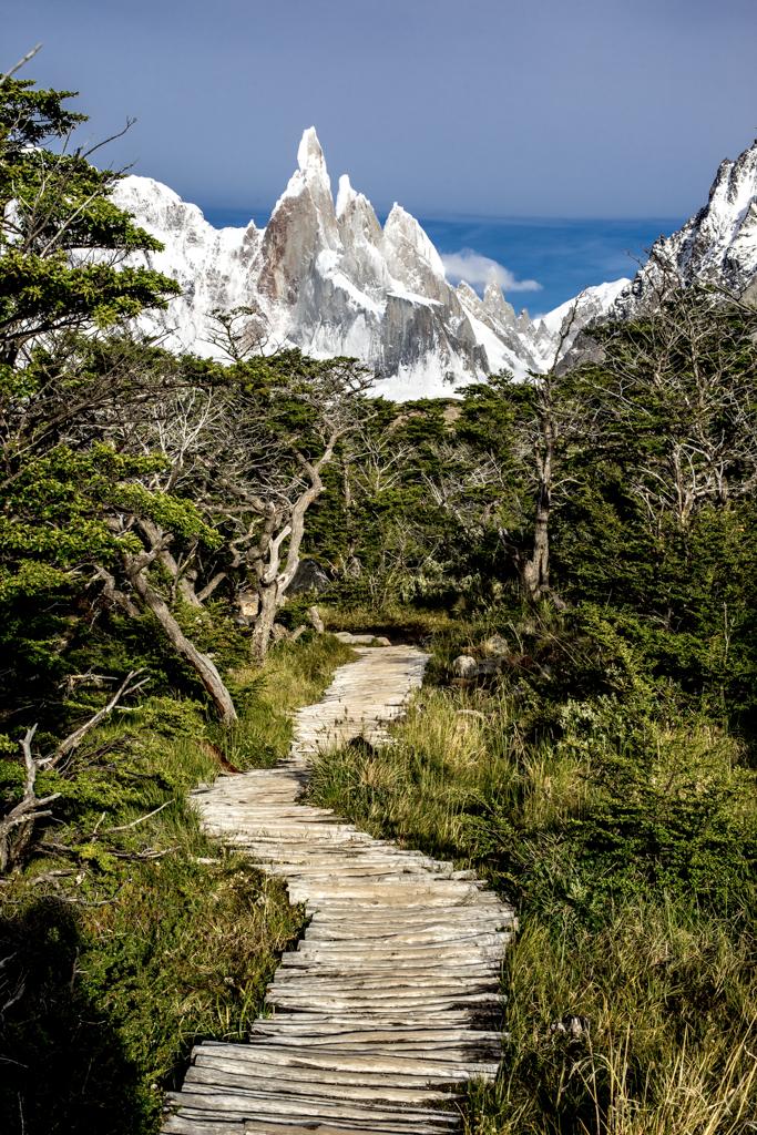Board walk to Cerro Torre
