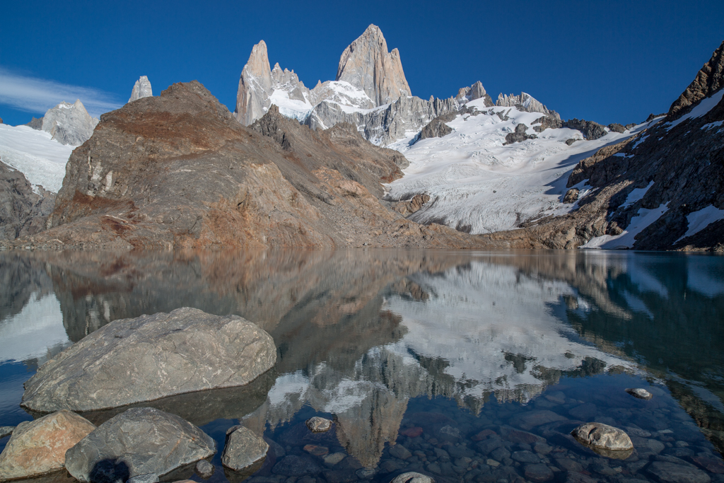 Down at Laguna de los Tres