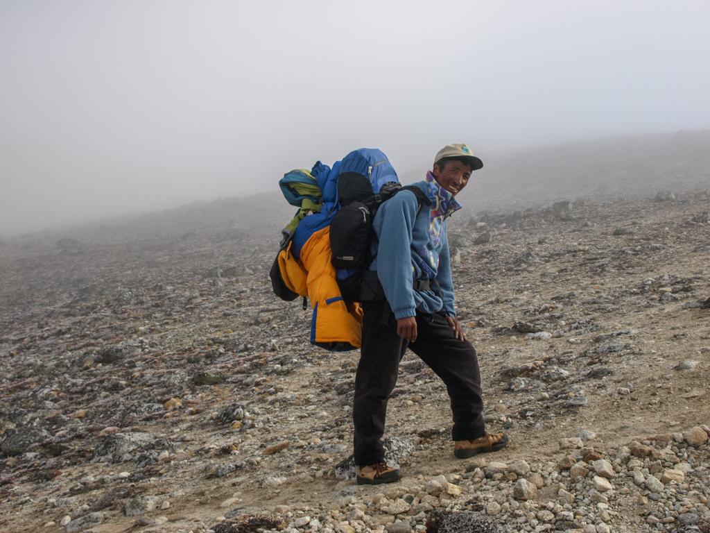 Sherpa in Everest region