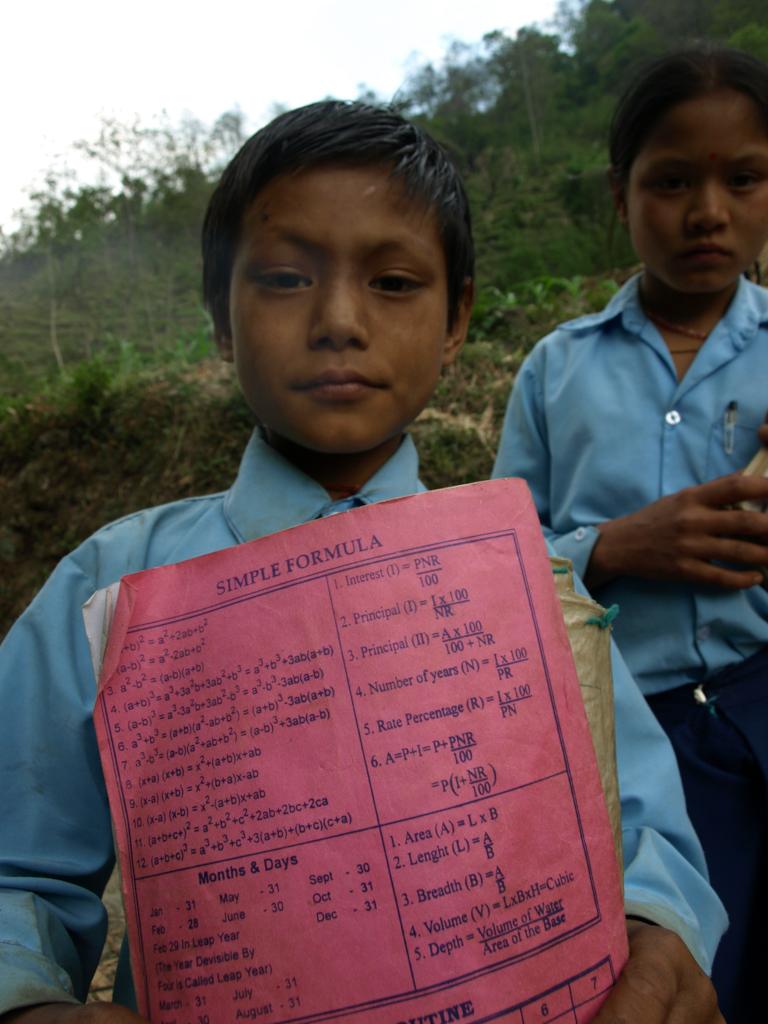 School project in Nepal