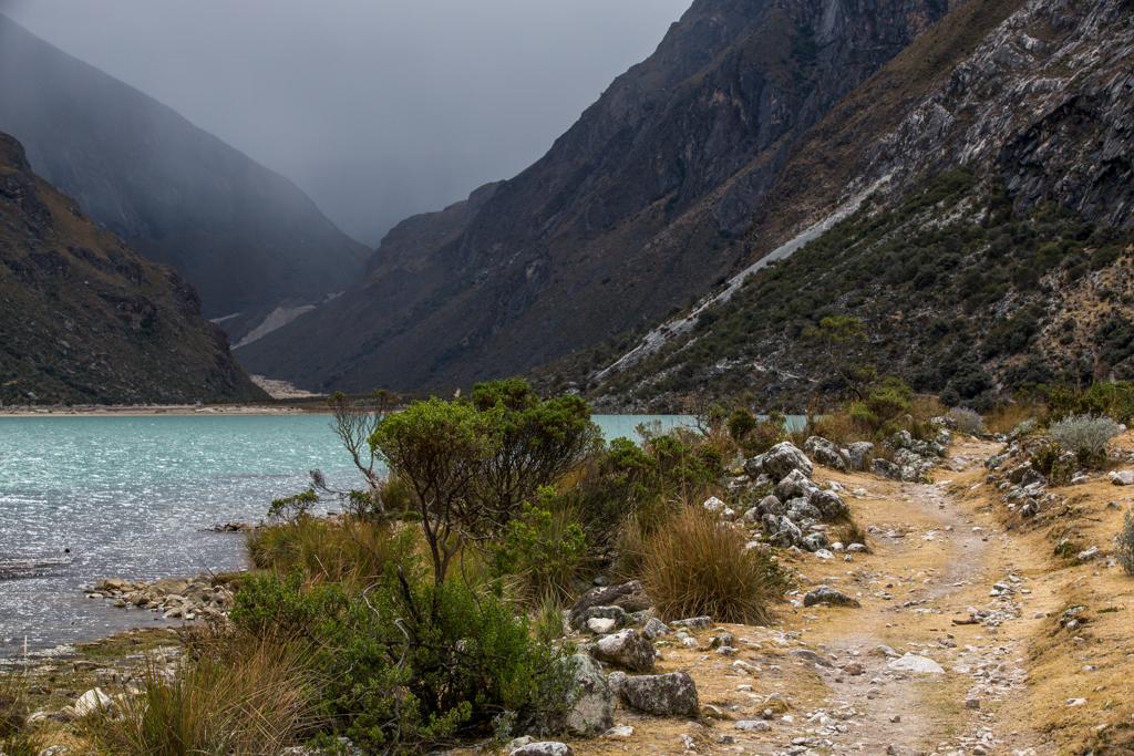 Gentle path to Alpamayo base camp
