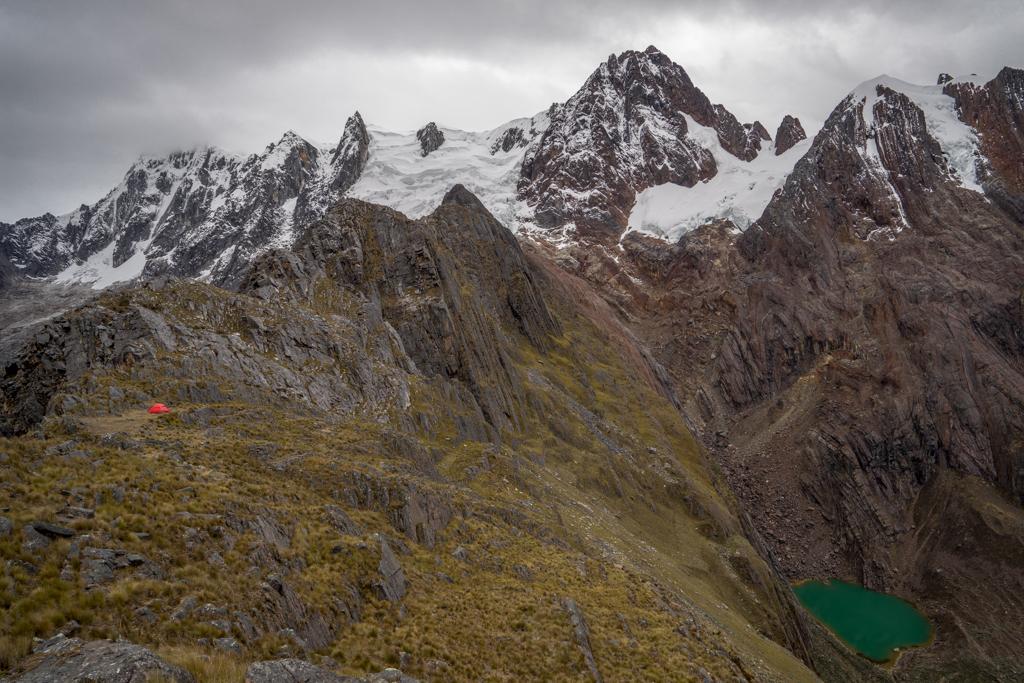 Camp at 4640m altitude
